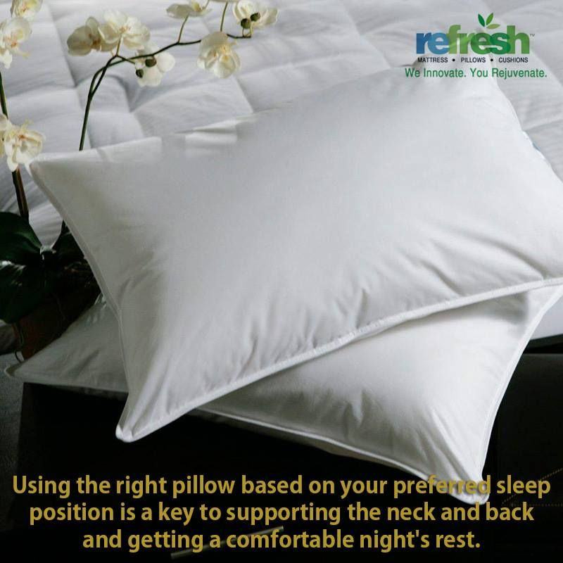 Pillow Shopping Is Another Important Aspect That Should