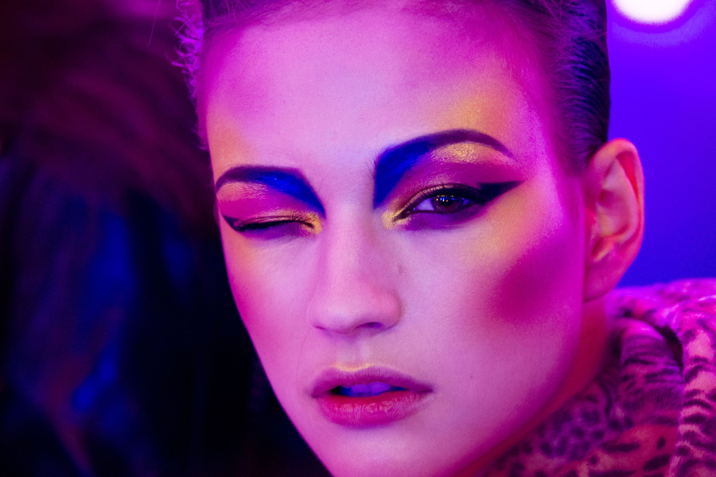 The Best Makeup Moments From Pat McGrath's Brooklyn Diner
