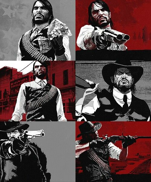 Red Dead Redemption Wallpaper Hd: John Marston, Red Dead Revolver