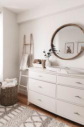 GENDER NEUTRAL NURSERY REVEAL - Styled Snapshots -   - #antiquedecor #apartmentd...   7723