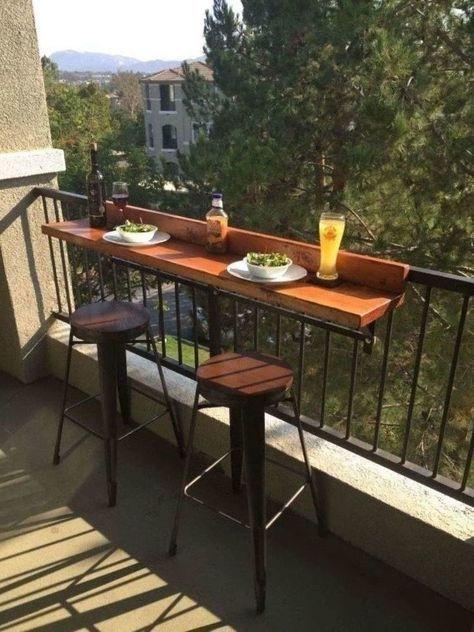 Photo of # Dekoration-DIY Balkon Bar Top – Charlotte Wylie- # Dekoration – Diydekorationhomes.club
