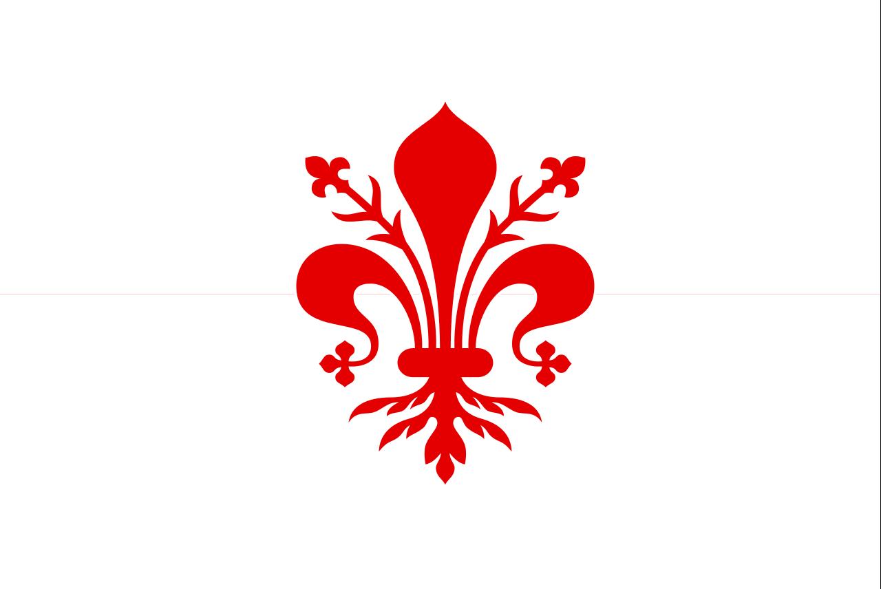 Republic of Florence Maple leaf tattoo, Flag tattoo