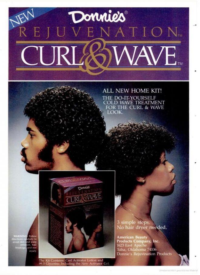 1983 Geri Curl Vintage Beauty Jheri Curl Vintage Black
