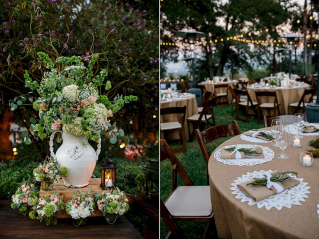 Simple wedding decoration ideas for reception   Incredible Outdoor Wedding Ceremony Decoration Ideas  Wedding