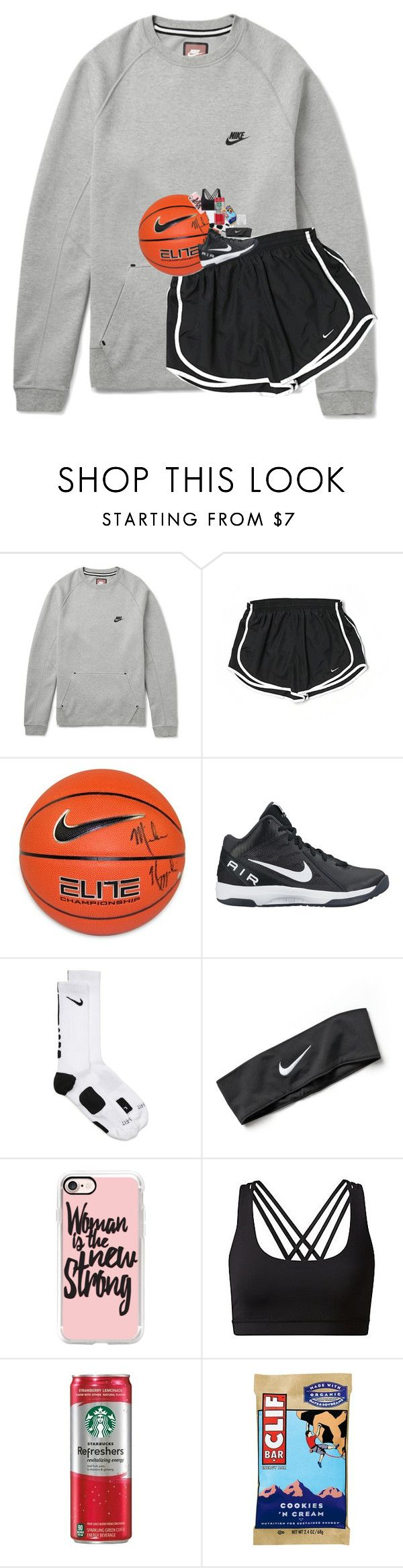 Basketball Game Tomorrow By Lindsaygreys Liked On Polyvore Featuring Nike Steiner Sports And Case Gaming Clothes Basketball Clothes Basketball Game Outfit