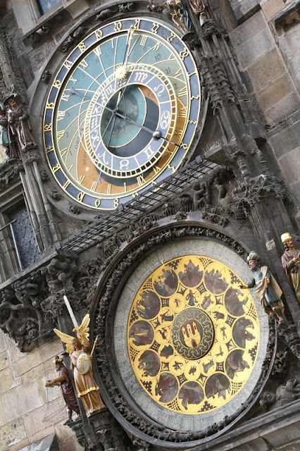 Astronomical Clock, Prague-- My Favorite City in all of Europe other than ROME!