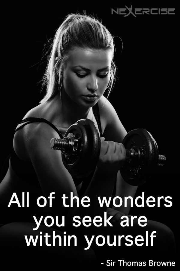 All wonders you seek are within yourself - Sir Thomas Browne
