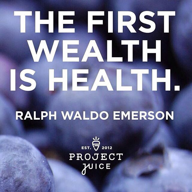 """""""The first wealth is health."""" as said by Ralph Waldo Emerson. For more inspirational quotes and sayings to help you stay focused on your health and wellness, click through to join us over on Instagram"""