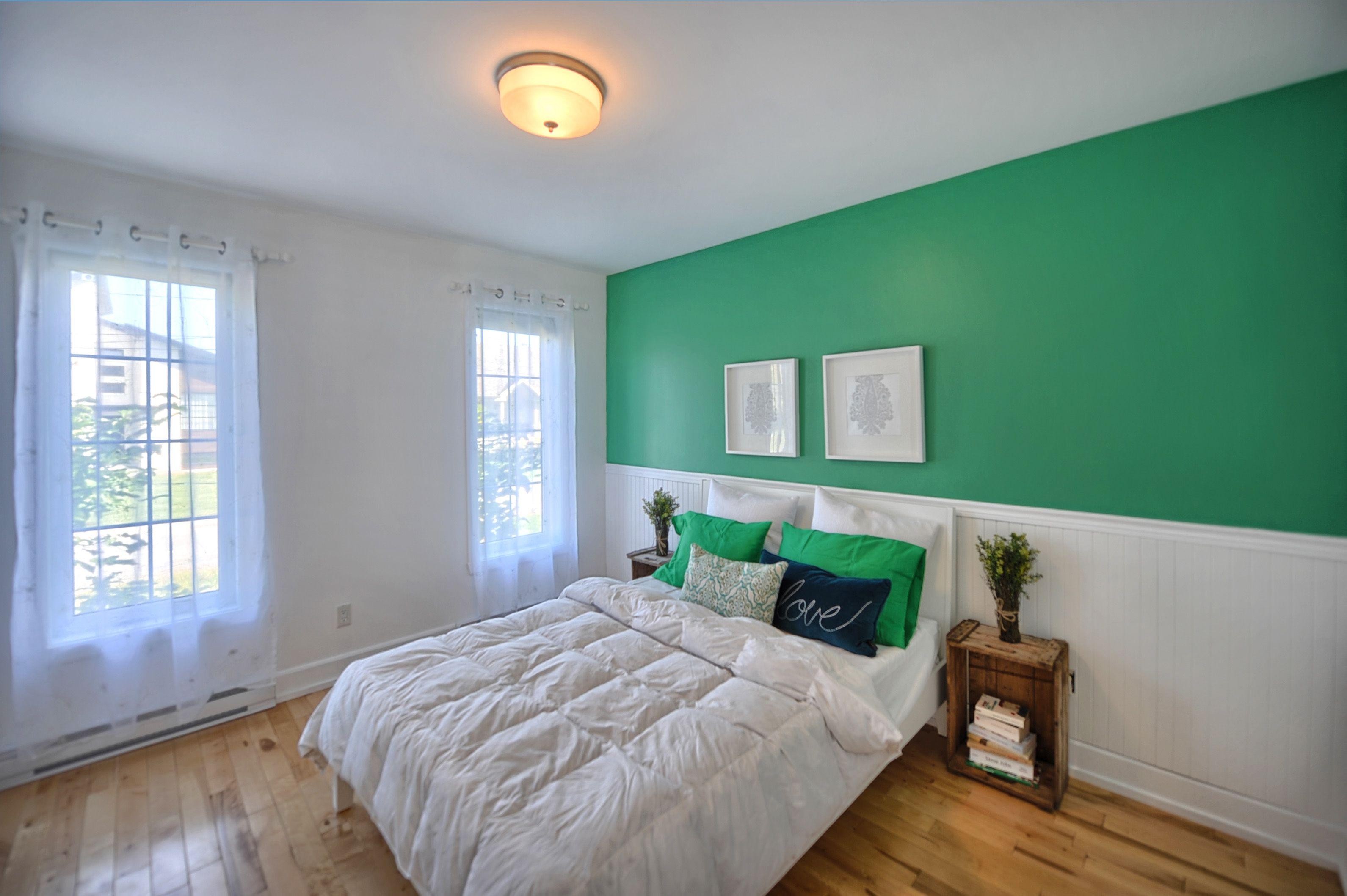 Chambre à Coucher Vert émeraude Emerald Green Bedroom Mes