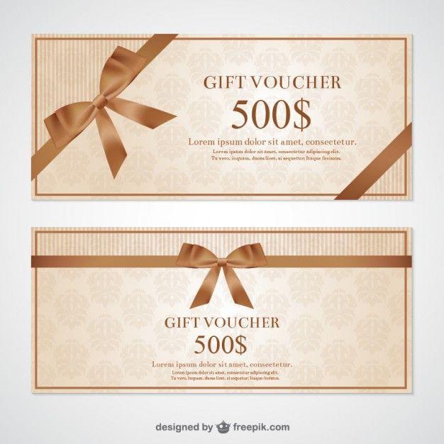 Gift voucher free vector card banner pinterest gift voucher free vector negle Gallery