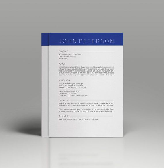 Resume template cv template for ms word professional and resume template cv template for ms word professional and creative resume design teacher resume a4 and us letter instant download yelopaper Choice Image