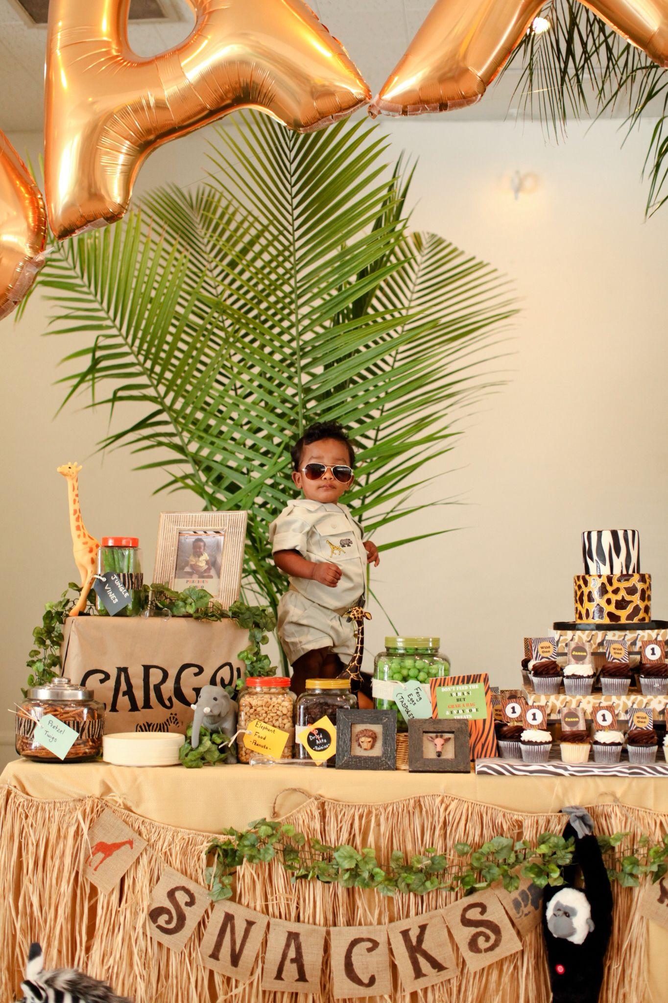The birthday boy dressed up in his safari outfit! Lion BirthdaySafari  Birthday PartyJungle ...