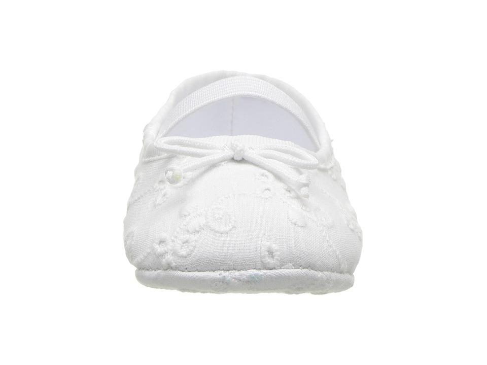 3d543d9f4 Polo Ralph Lauren Kids Allie (Infant Toddler) Girl s Shoes White Eyelet