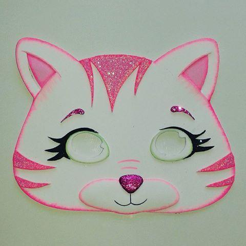 Foami Gomaeva Mascara Antifaz Disfraz Disfraces Carnaval Educacion Selva Animales Ninos Fe Antifaces Para Ninos Caretas De Animales Mascara De Gato