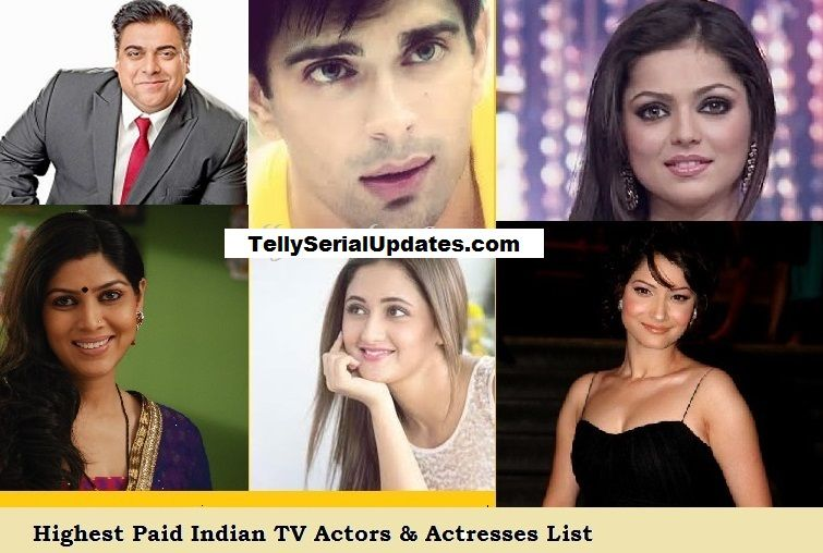 TOP 10 Highest Paid Indian/Hindi TV Actors & Actresses 2018