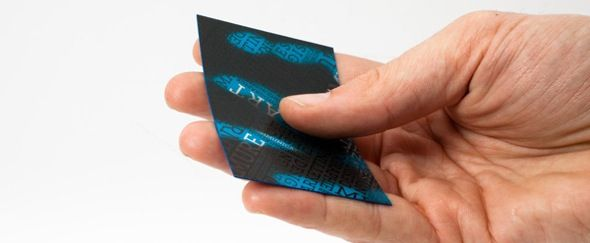 Heat Activated Color Changing Business Cards