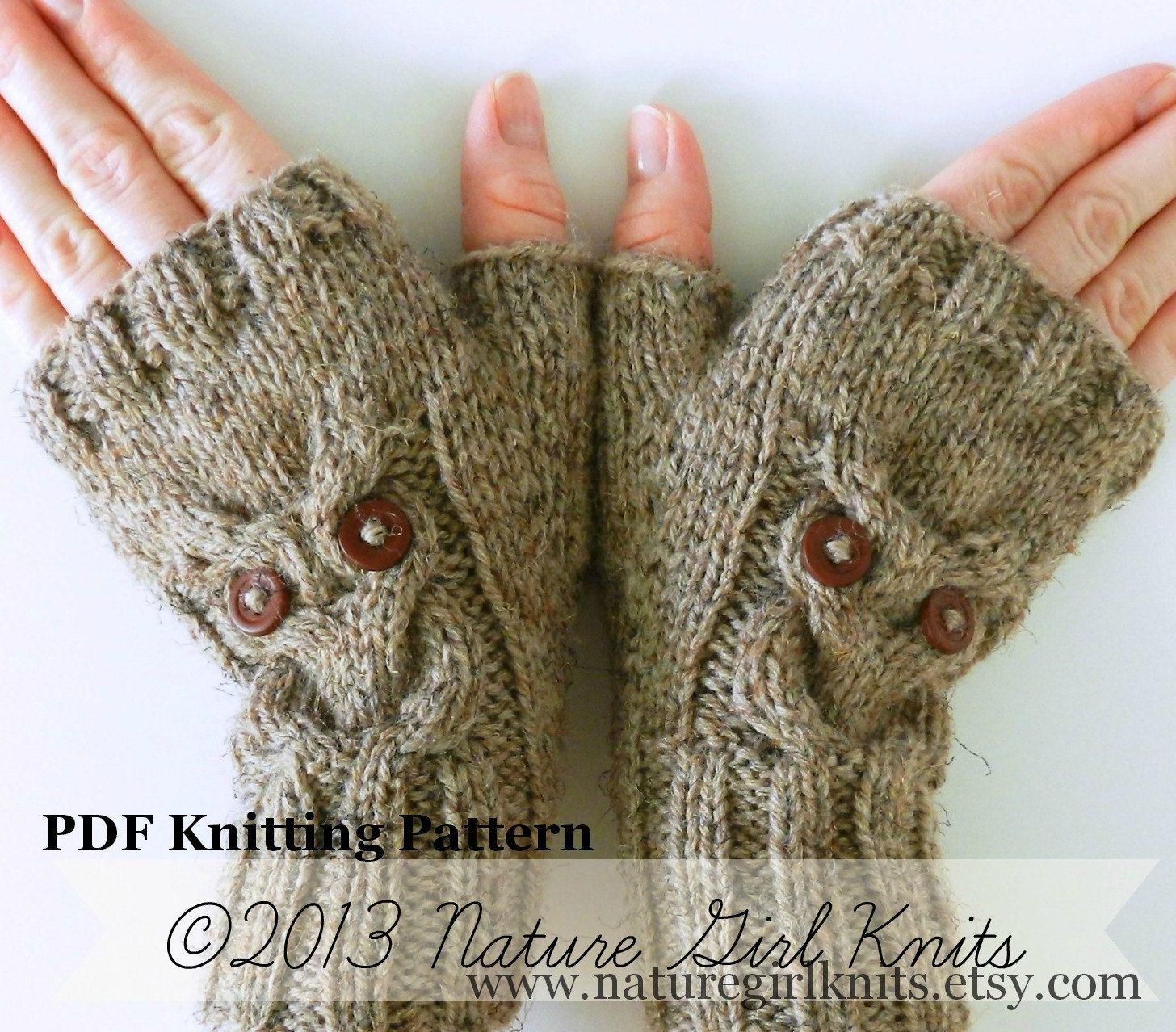 DIY Style: Knitted Snowbird Mittens foto