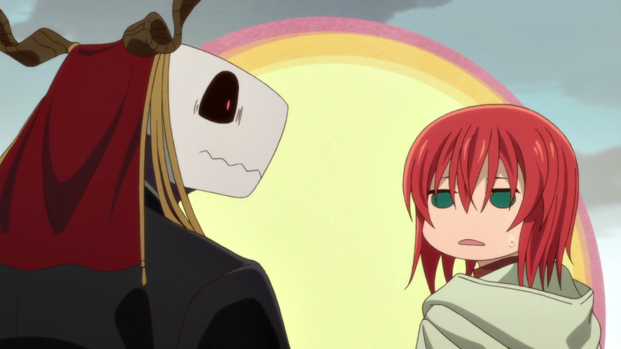 Elias Ainsworth & Hatori Chise || | Ancient magus bride, Anime ...