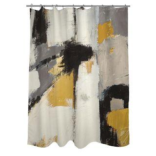 Thumbprintz Yellow Catalina I Shower Curtain 44 Shower Curtains Walmart Yellow Bathroom Decor Yellow Shower Curtains