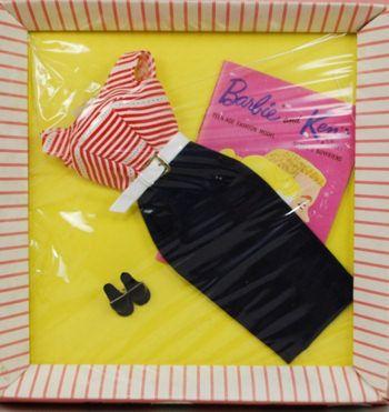 1959-62 Barbie - Cruise Stripes (1961 book) # 918