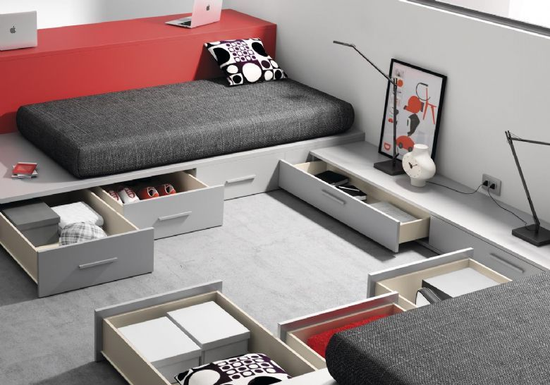 Dormitorio juvenil eider all interest dormitorios for Habitacion juvenil hombre