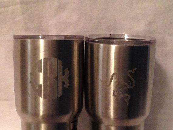 5c782ded785 Yeti Tumblers and Ozark Trail Tumblers Monogrammed Cups Ham Radio Callsigns  Custom Cups Fa