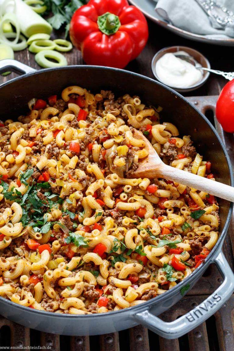 Photo of Quick chop pan with croissant noodles & vegetables – emmikochte …