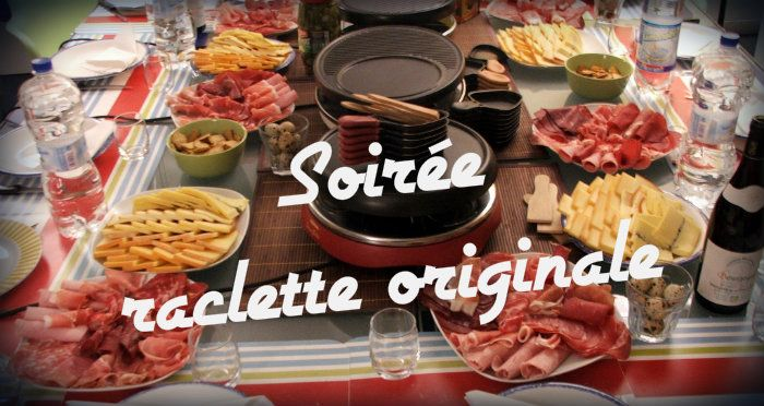 Raclette originale raclette pinterest raclette for Idee repas simple soiree entre amis
