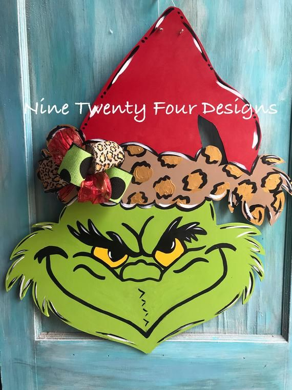 Pin by Doris Feltner on grinch in 2020 | Christmas door ...