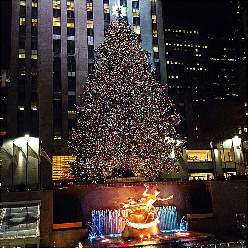 Rockefeller Christmas Tree Lighting 2014: Staying At The Waldorf Astoria New York