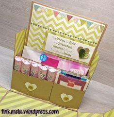 Genießer-Box mit Anleitung #kleineweihnachtsgeschenkekollegen
