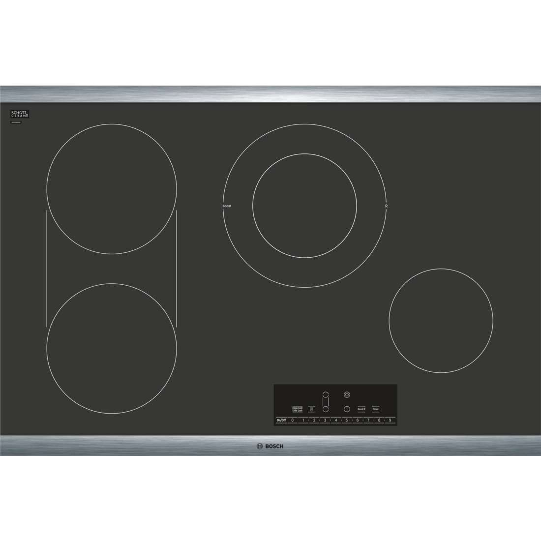 Net8068suc By Bosch Electric Cooktops Goedekers Com Electric Cooktop Cooktop Bosch