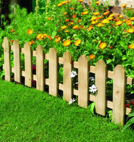 Cute And Keep Dogs Out Diy Garden Fence Small Garden Fence Picket Fence Garden