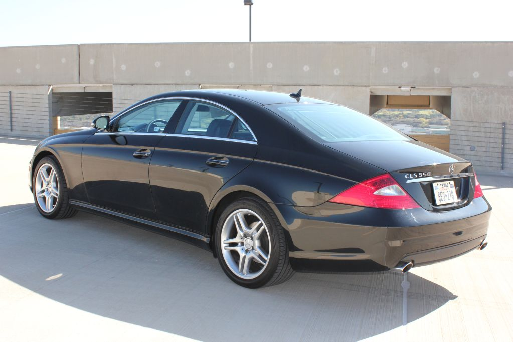 2007 Mercedes Benz Cls 550 Amg 63 748 Miles Exterior Color Black Interior Color And Material Black Leather Engine 5 5 Liter V8 7 Speed Auto Mpg City