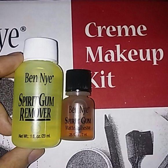 Ben Nye Spirit Gum & Spirit Gum Remover Matte Adhesive for costume accesories & remover. Ben Nye Makeup
