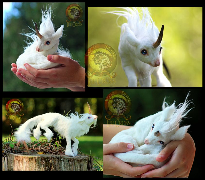 Sold Puff The Baby Unicorn Fantasy Art Dolls Baby Unicorn Cute Fantasy Creatures
