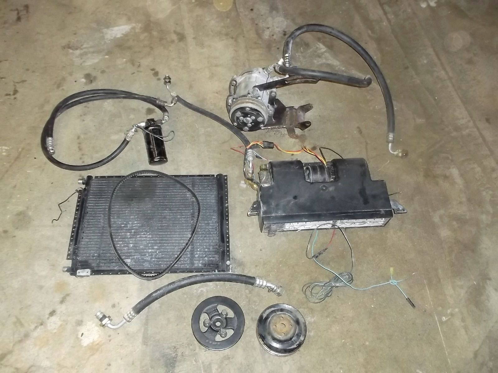 1965 1966 1967 1968 Mustang Air Conditioning Cougar A/C