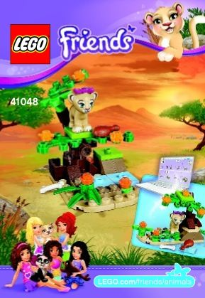 Lego Friends Instructions And All Of The Instructions Easy To