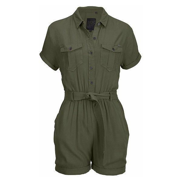 082562809431 Superdry Krátky overal »BOHO UTILITY PLAYSUIT« ( 73) ❤ liked on Polyvore  featuring