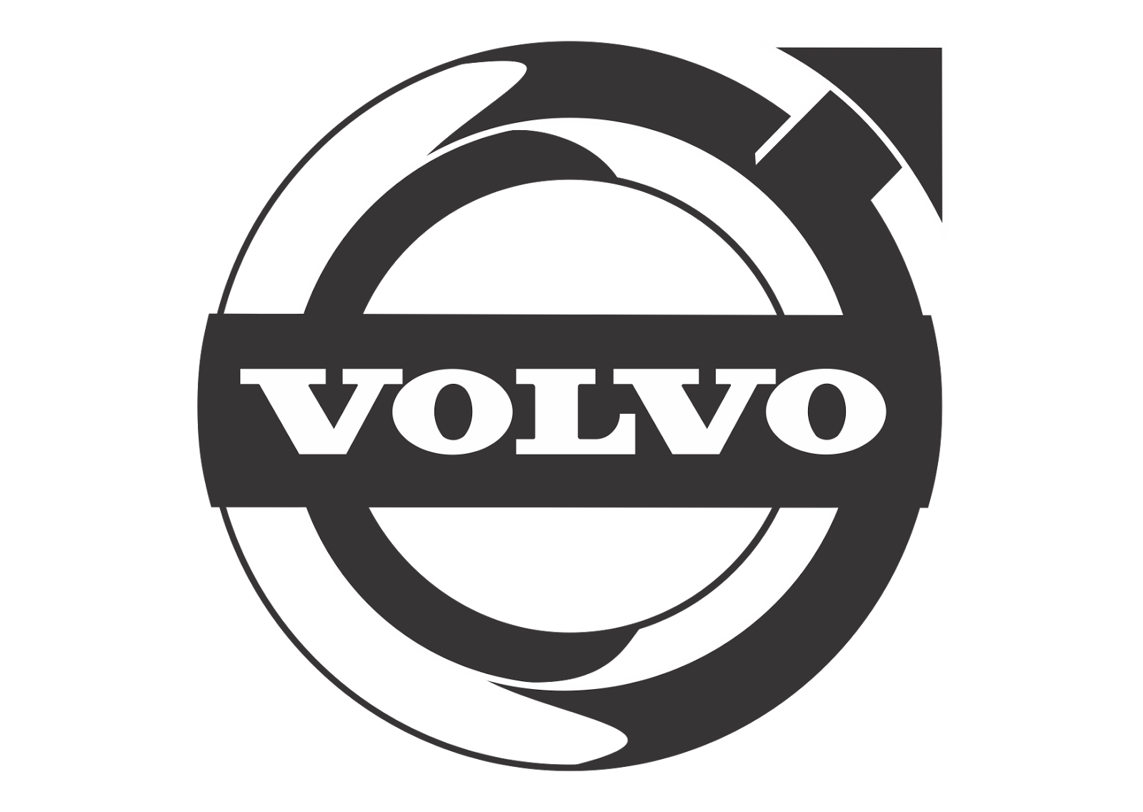 volvo black white logo branded logos pinterest volvo. Black Bedroom Furniture Sets. Home Design Ideas