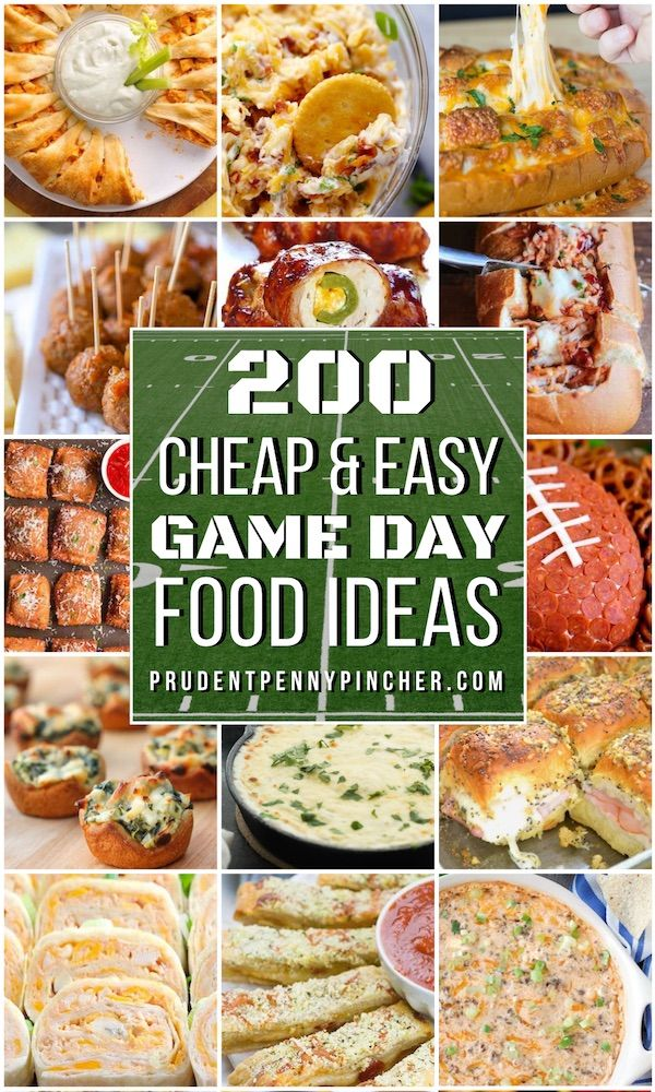 200 Cheap & Easy Super Bowl Party Food Ideas