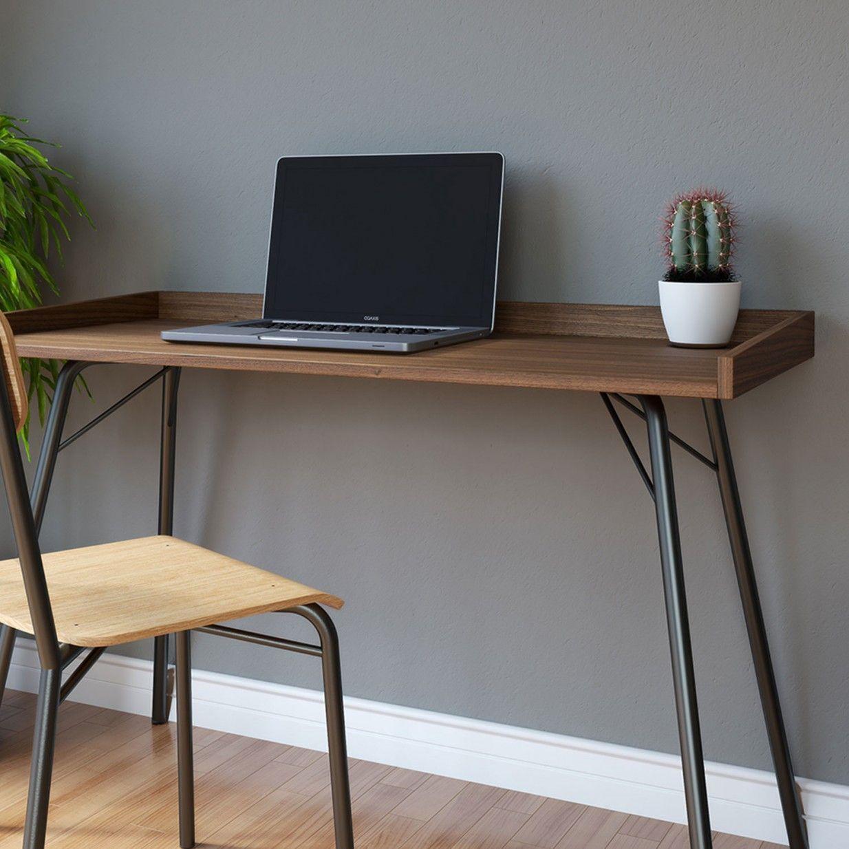 Rayburn Schreibtisch Walnuss Woodman Walnut Desks Office Furniture Modern Office Desk