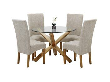Table VORBASSE 4 Chairs BORUP