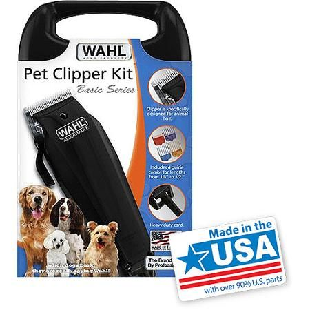 Wahl Pet Clipper Kit Basic Series Hair Clippers Dog Grooming Dog Clippers