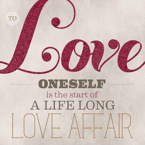 """""""...a life long love affair.""""  I like it.  <3"""