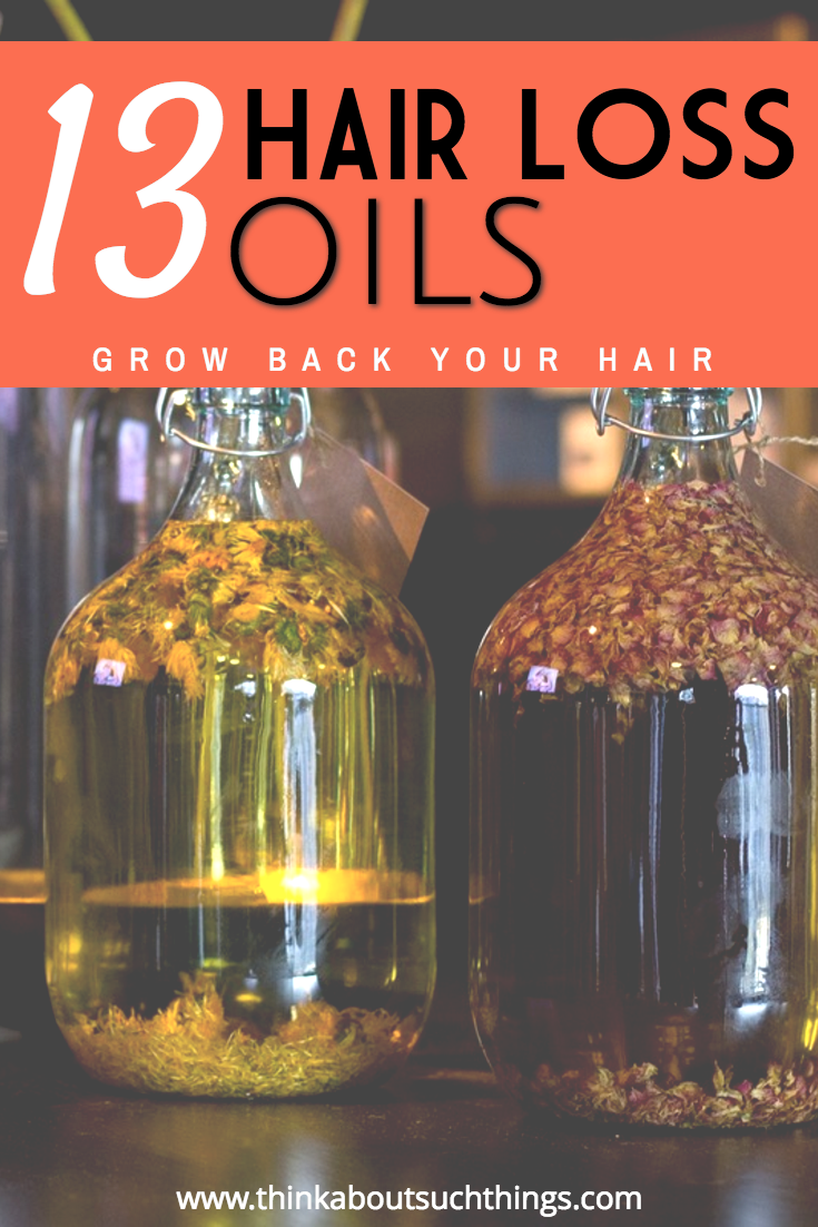 Oils have such healing abilities to our bodies. These 12 oils have been shown to aid in hair loss and help regrow hair.