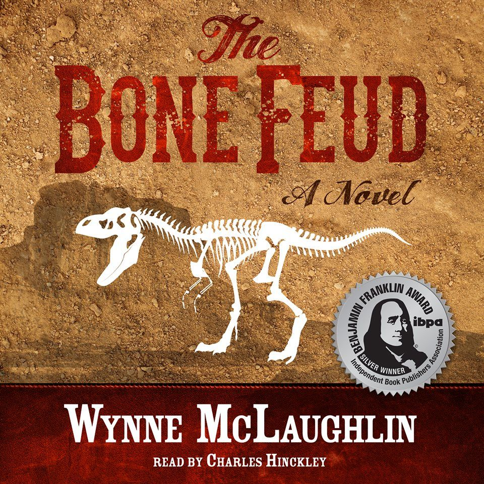 THE BONE FEUD, my award-winning adventure tale of dinosaur bone hunters in the wild west, is now an audiobook! http://www.audible.com/pd/Fiction/The-Bone-Feud-Audiobook/B01BMXWKT2