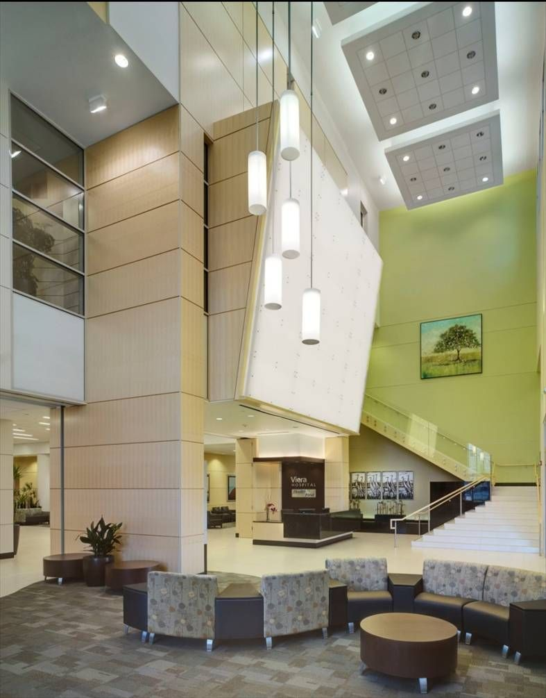 Health First Viera Fla Hospital 3 Of 6 Modern Healthcare S Architectural Design Awards 2011 Hospital Architecture Healthcare Design Modern Hospital