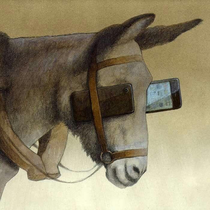 Risultati immagini per paraocchi di pawel kuczynski