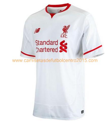 Camiseta del Liverpool Segunda 2015-2016 baratas